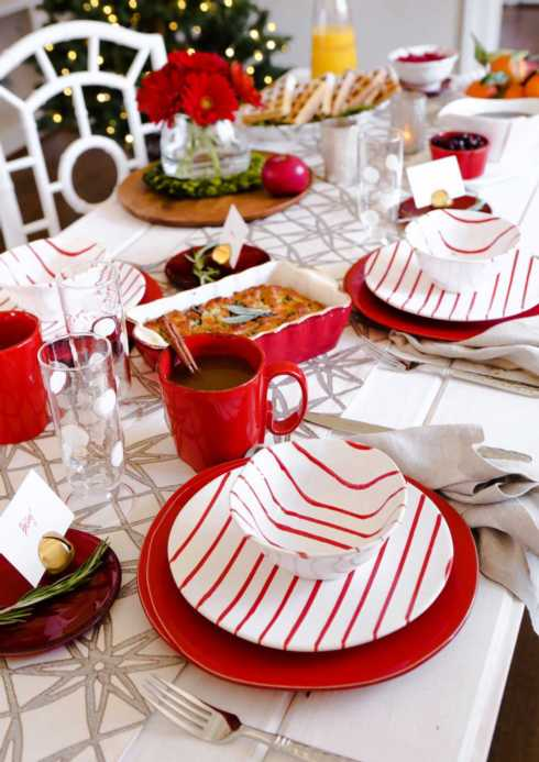 Stripe Red collection with 9 products
