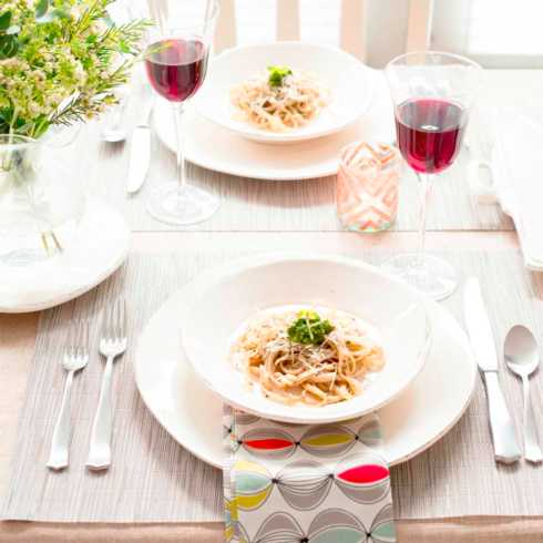 VIETRI Lastra Linen Four-Piece Place Setting $146.00