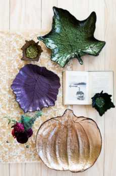 Leaf Glass collection with 5 products