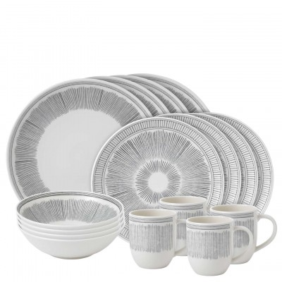 Textured Dinnerware collection with 32 products