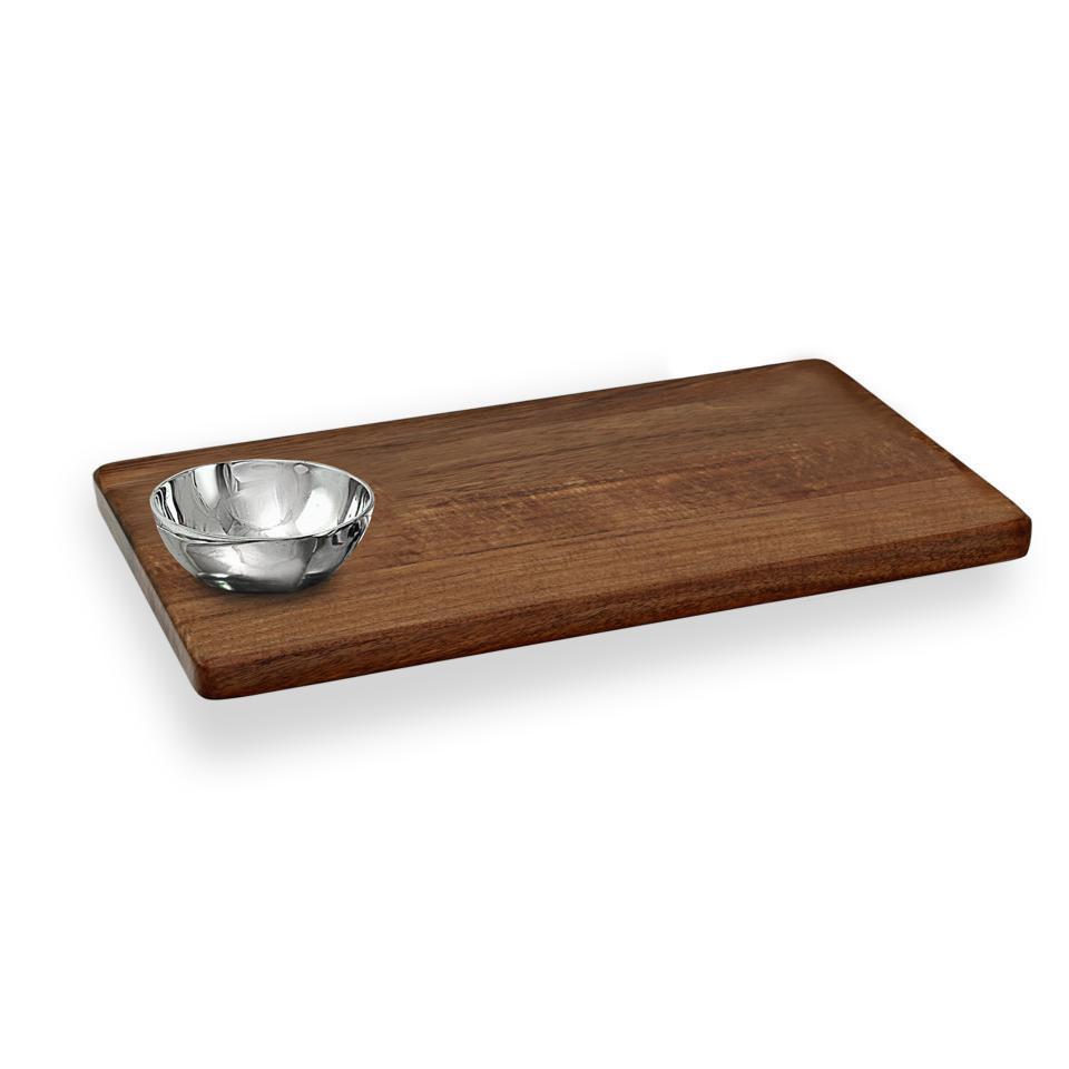 Rect w/rnd bowl