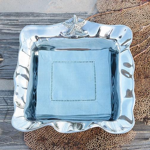 Ocean Starfish Napkin Box