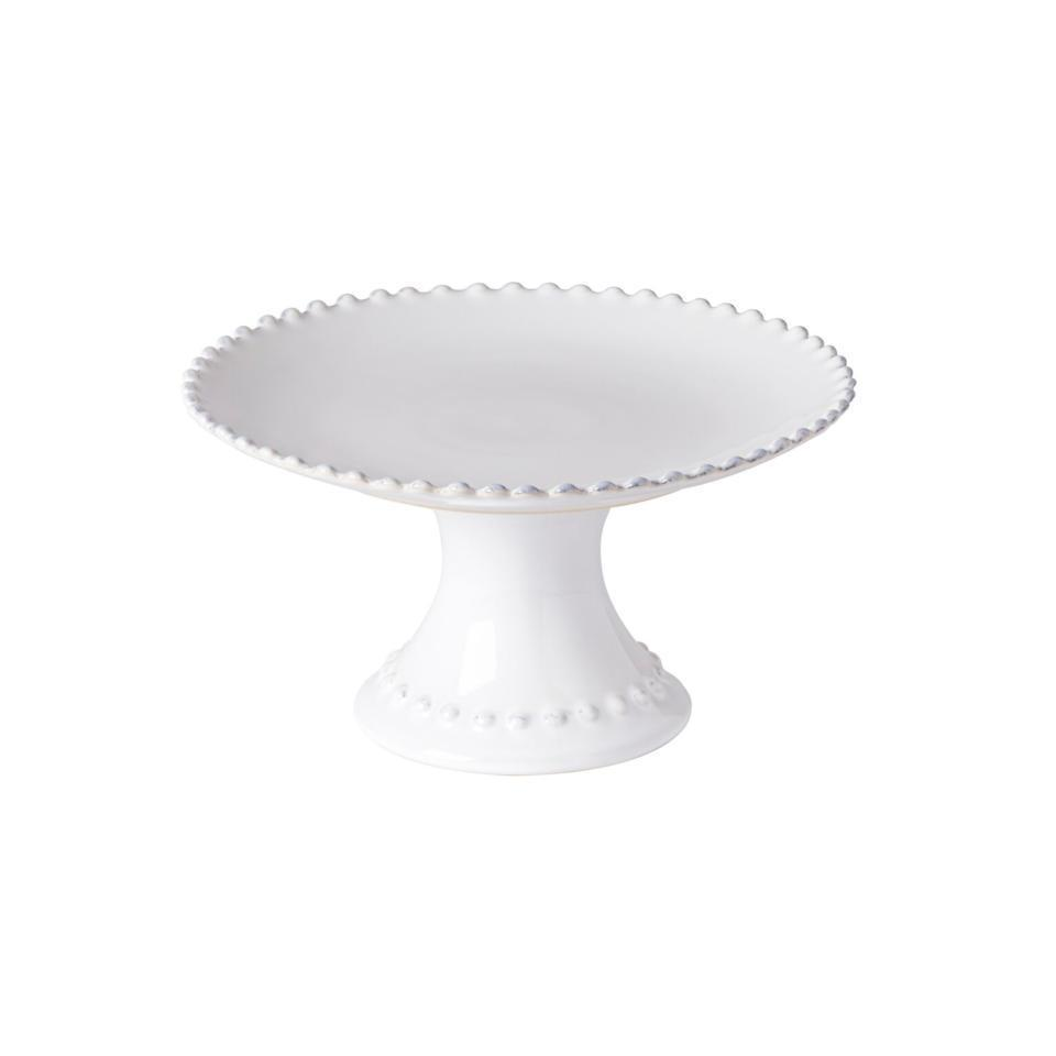 Pearl - White Footed Plate 9 inch
