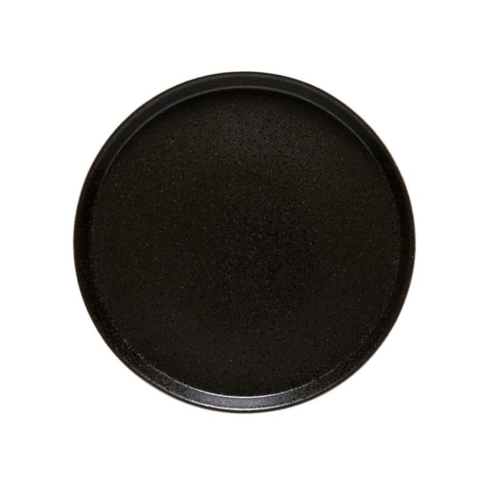 Notos Latitude Black Round Plate 12 inch/ Set of 6