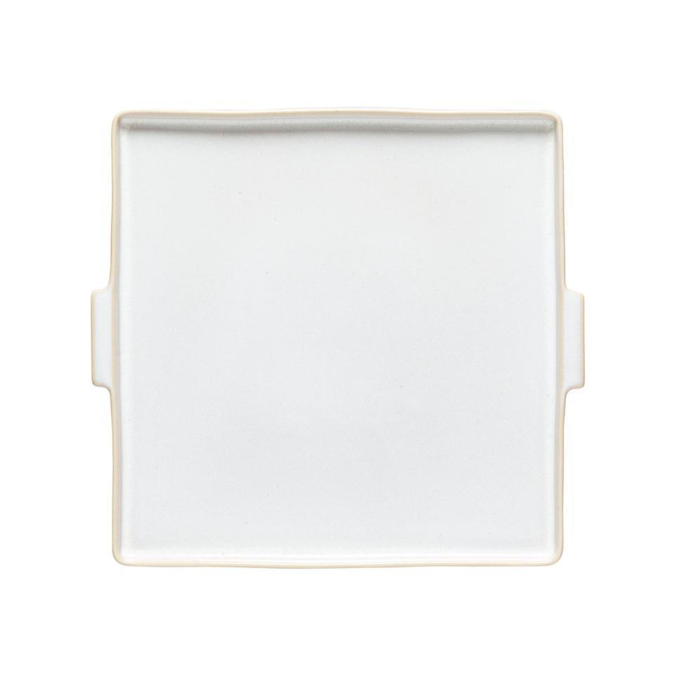 Notos Dune Path Square Serving Plate 12 inch