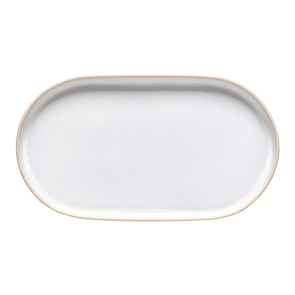 Notos Dune Path Oval Platter 15 inch