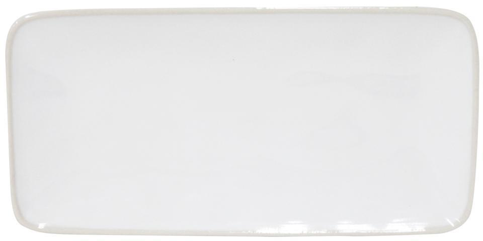 Astoria - White 8.75 inch Rectangular Tray