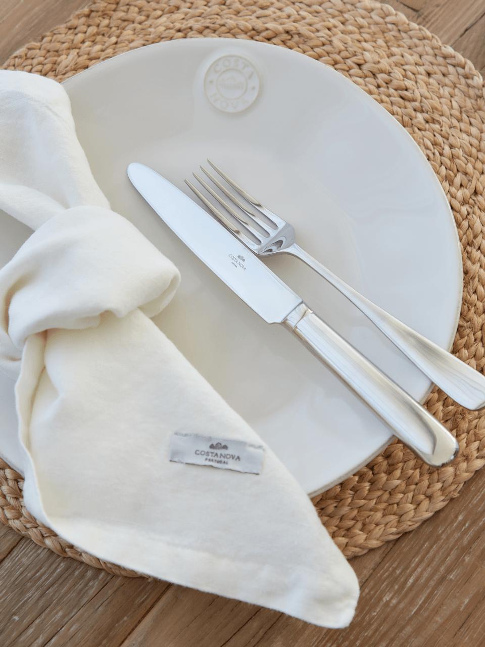Porto - White Napkin Set/4