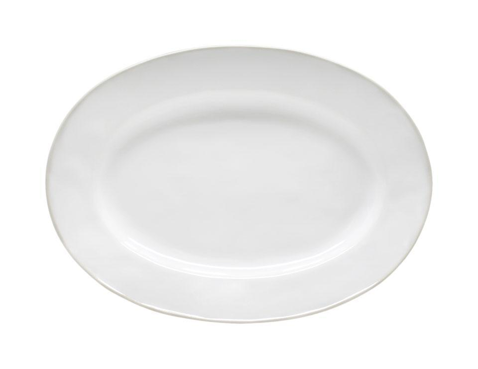 Astoria - White 11.75 inch Oval Platter