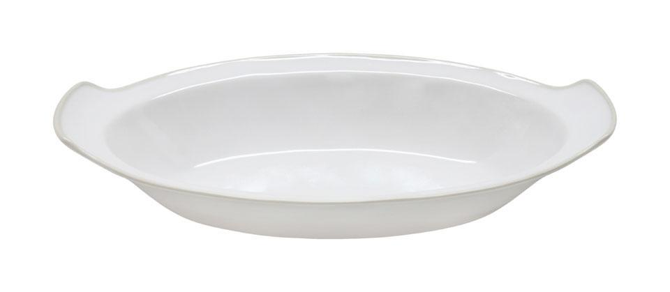 Astoria - White 13 inch Oval Gratin