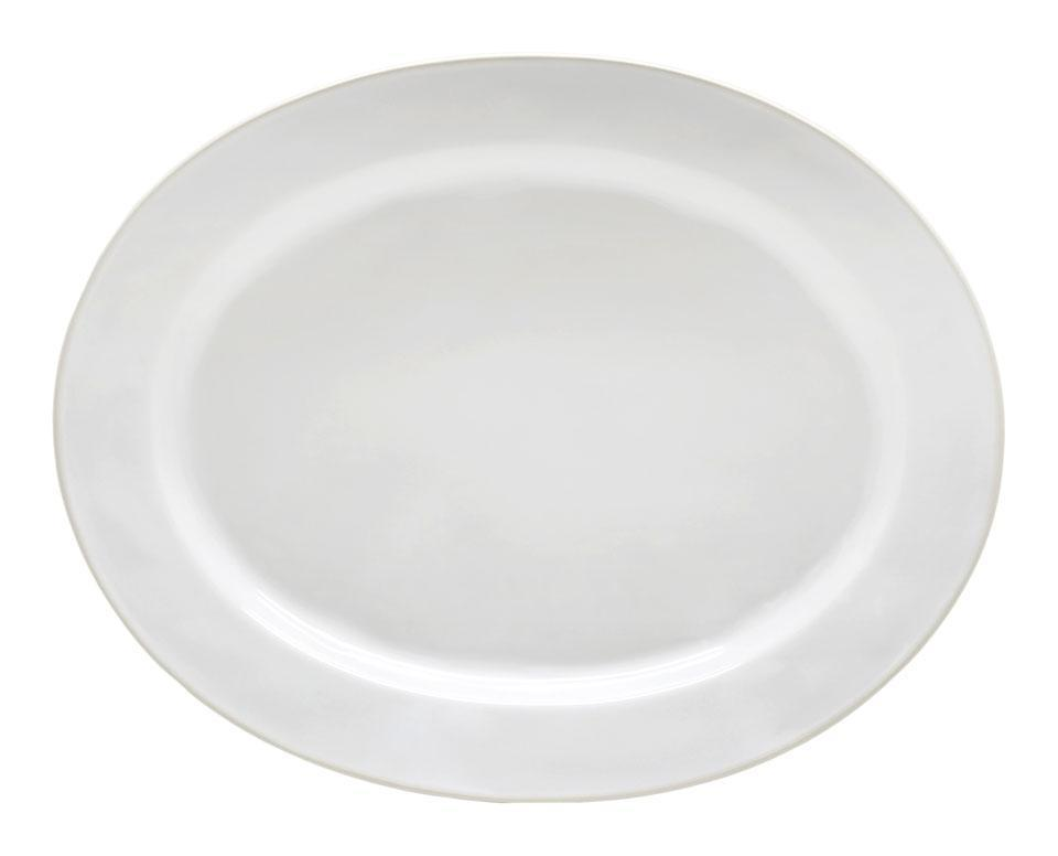 Astoria - White 15.75 inchOval Platter
