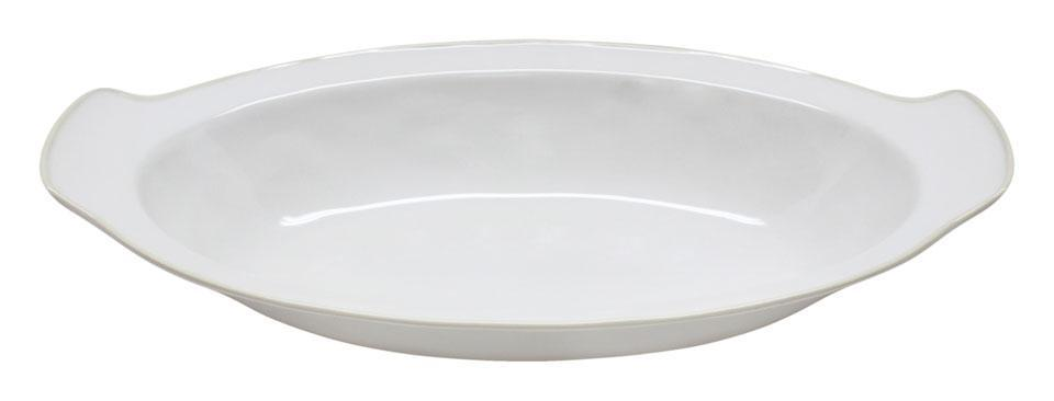 Astoria - White 16.25 inch Oval Gratin