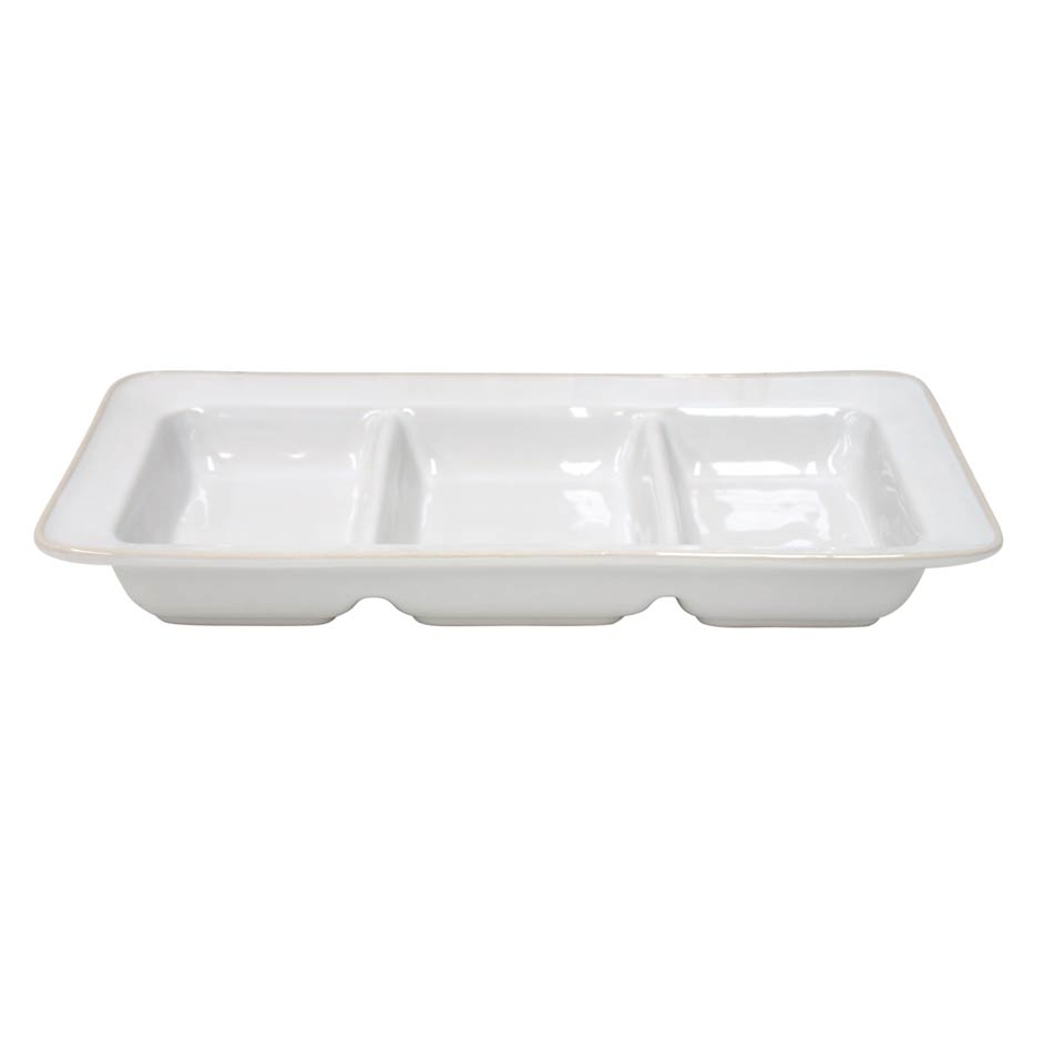 Astoria - White Triple Tray