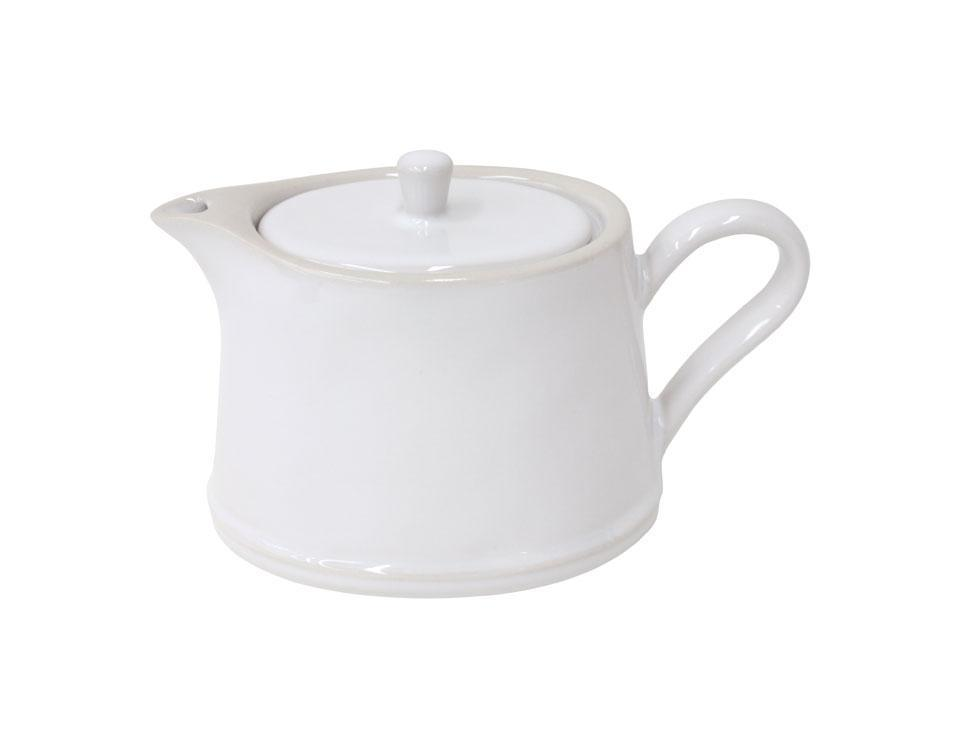 Astoria - White 16 Oz Tea Pot