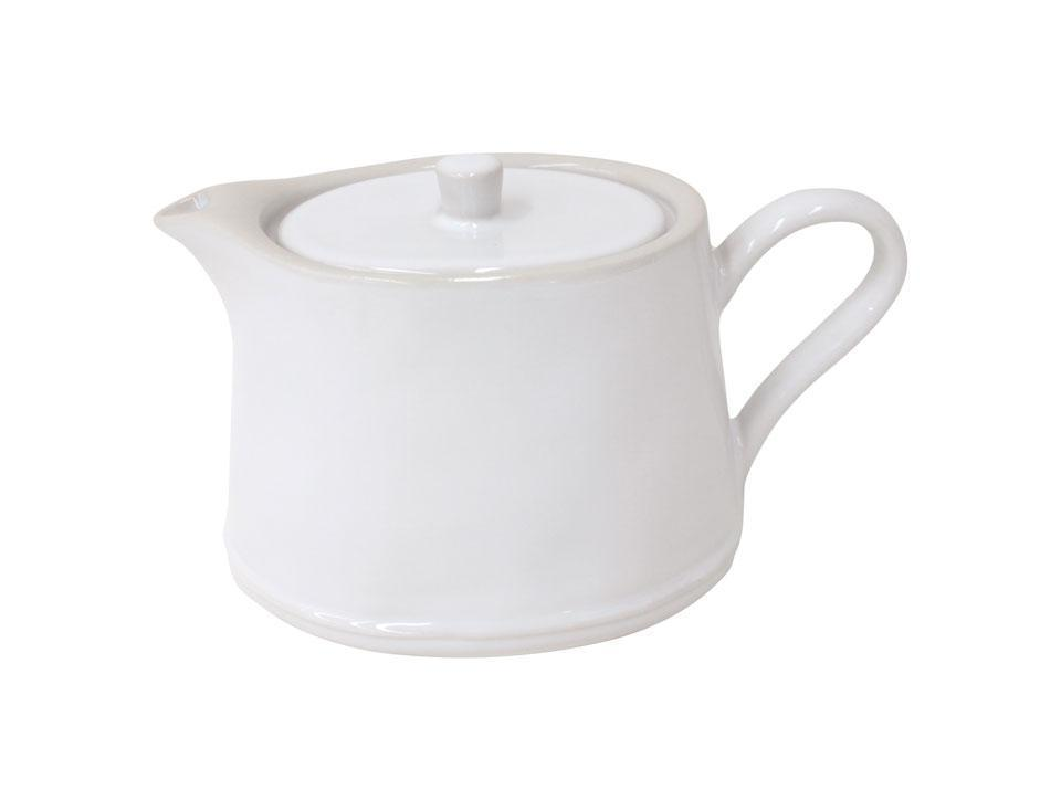 Astoria - White 33.8 Oz Tea Pot