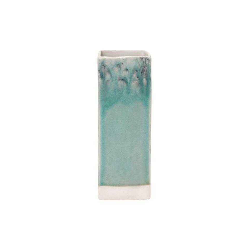 Madeira - Blue Square Vase