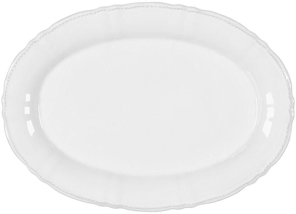 Village - White Oval Platter