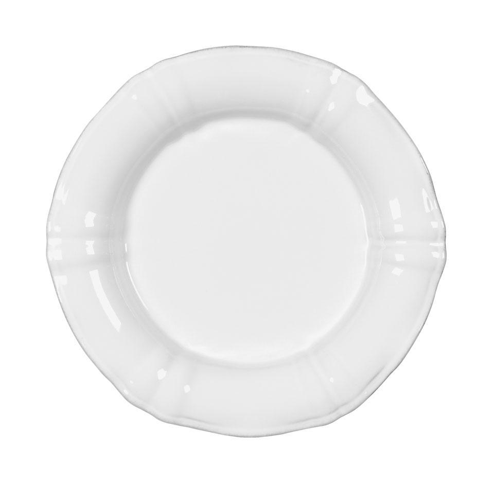 Village - White Salad Plate
