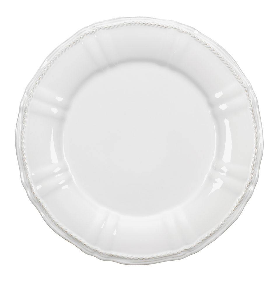 Village - White Charger Plate
