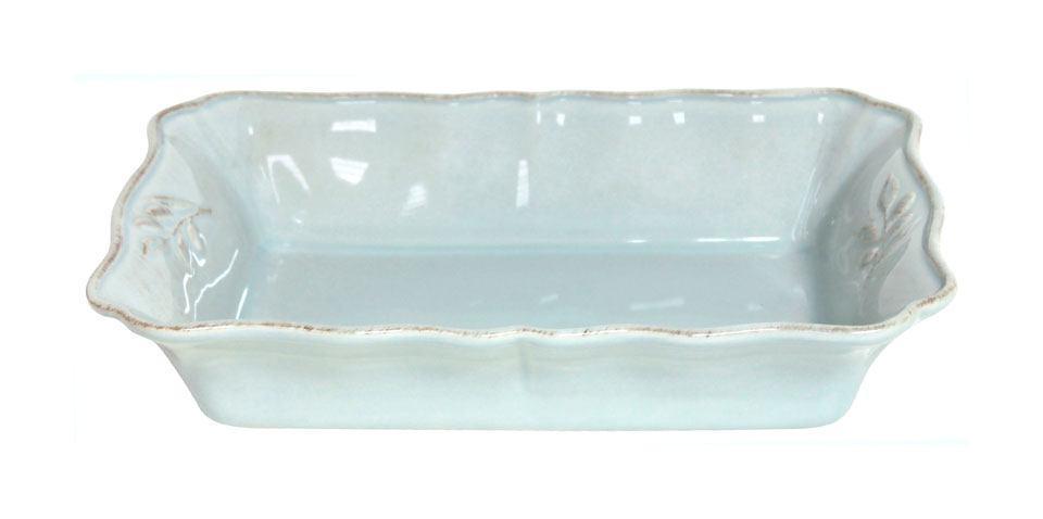 Alentejo - Turquoise 11.75 inch Rectangular Baker