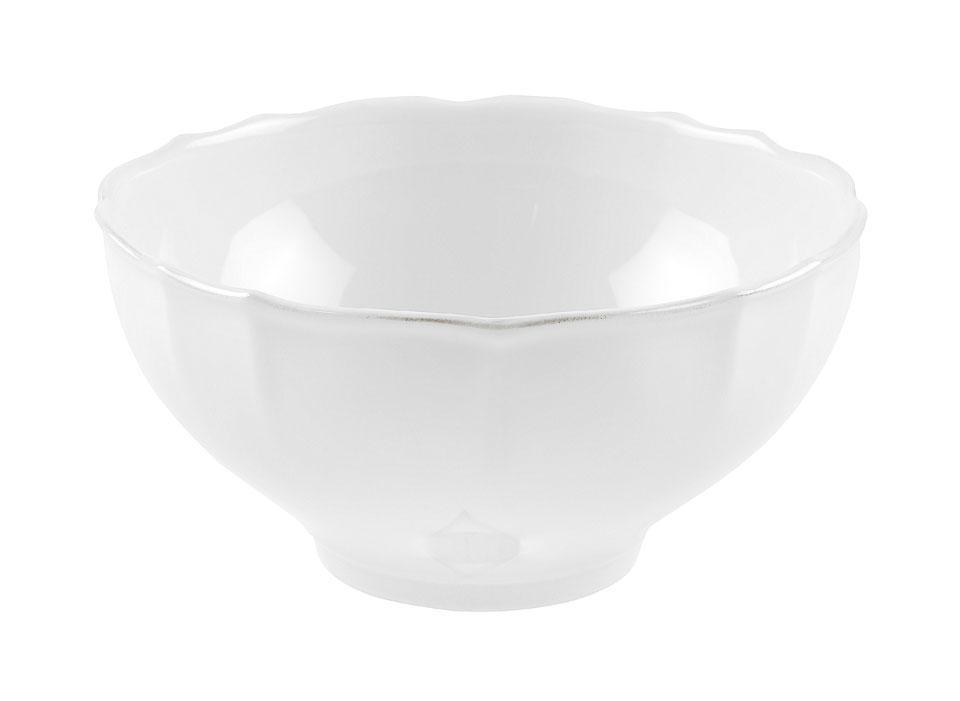 Village - White Salad Bowl