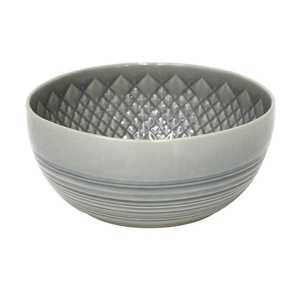 Cristal - Grey Serving Bowl