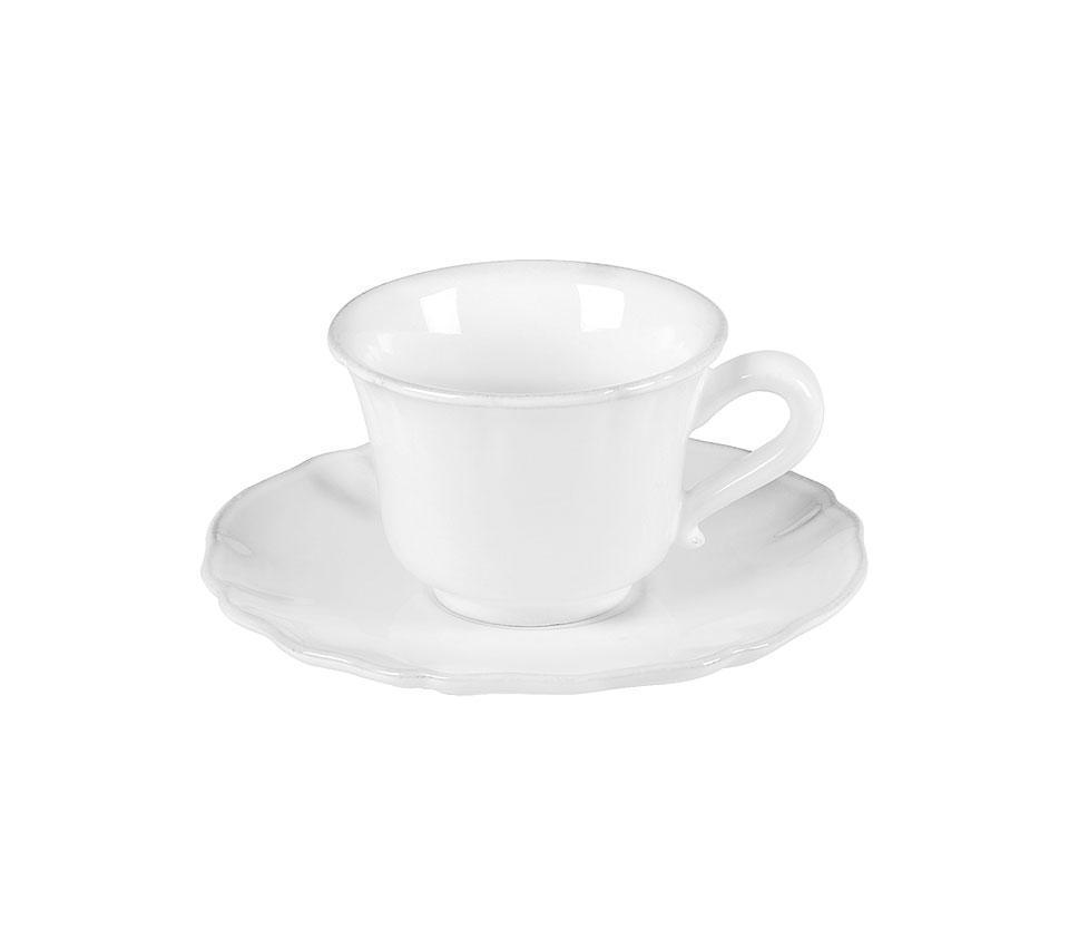 Alentejo - White Tea Cup and Saucer