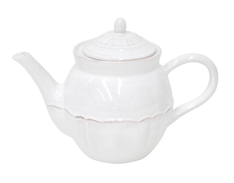 Alentejo - White 50.7 Oz Tea Pot