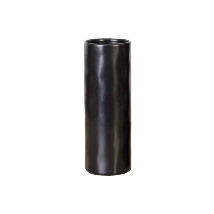Riviera - Sable Noir Cylinder Vase