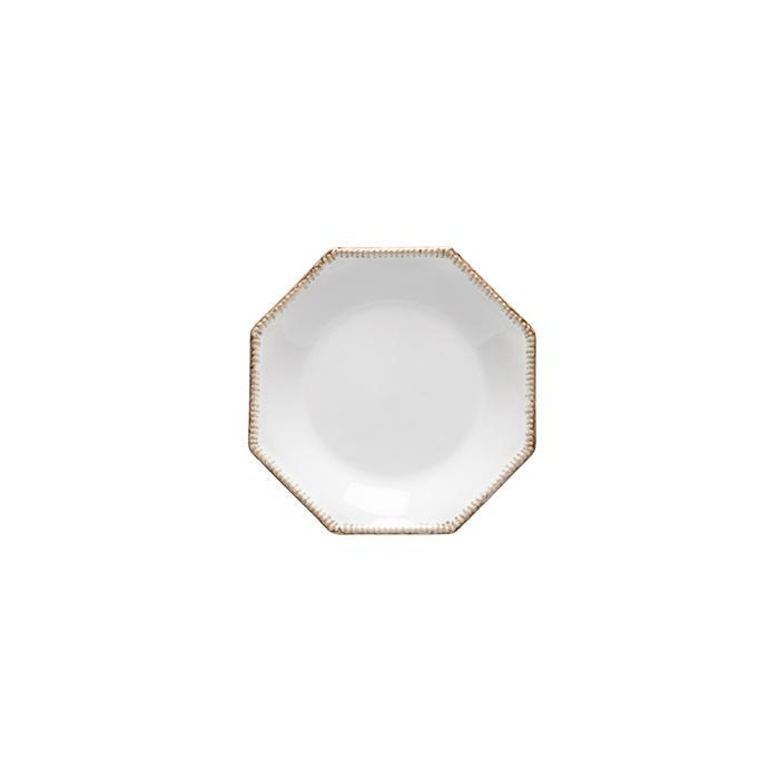 Luzia -  Cloud White Octangular Bread Plate