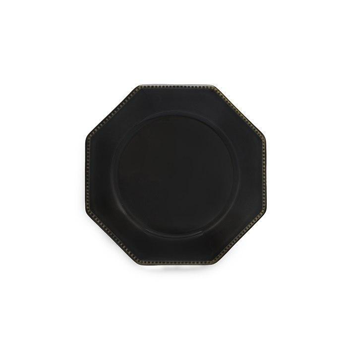Luzia -  Slate Grey Octangular Salad Plate