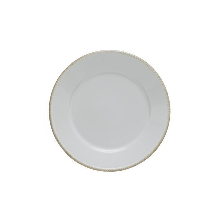 Luzia -  Cloud White Salad Plate