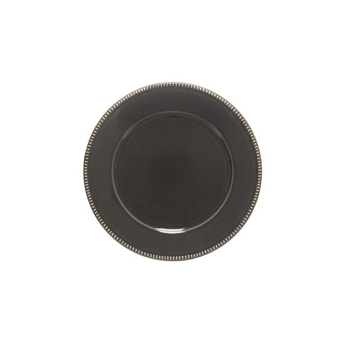 Luzia -  Slate Grey Salad Plate