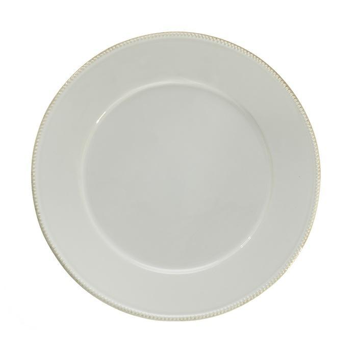 Luzia -  Cloud White Charger Plate/Platter
