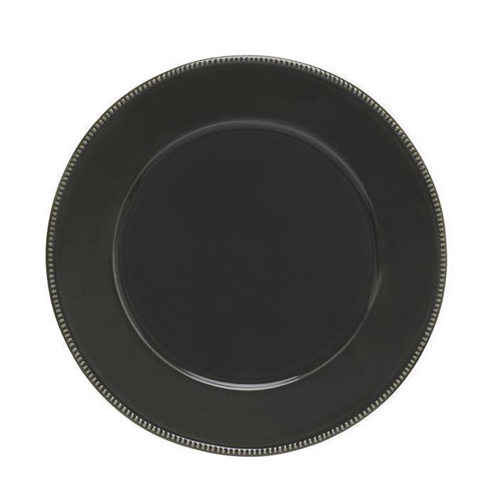 Luzia -  Slate Grey Charger Plate/Platter