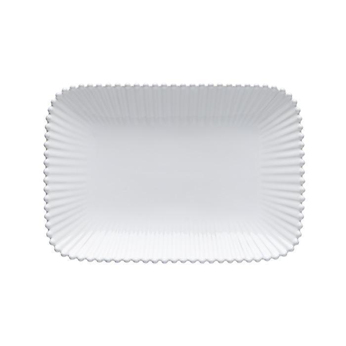 Pearl - White Medium Rectangular Platter