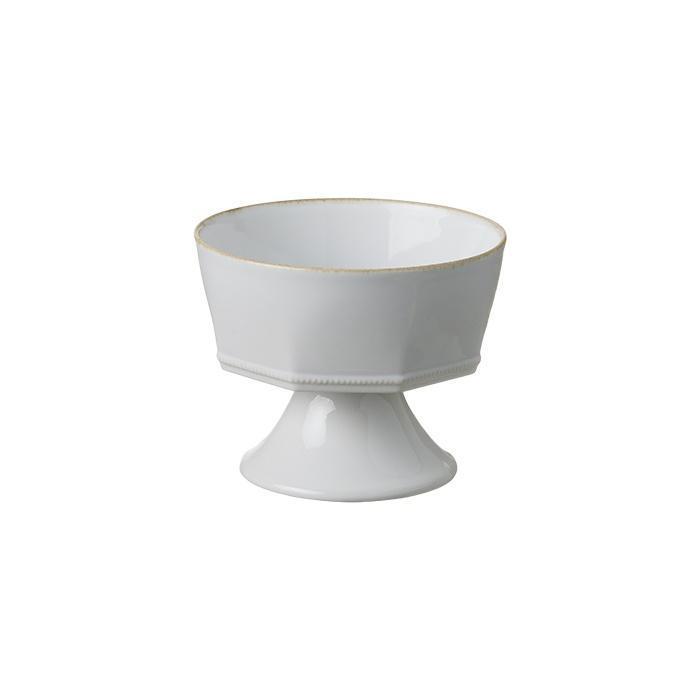 Luzia -  Cloud White Footed Bowl