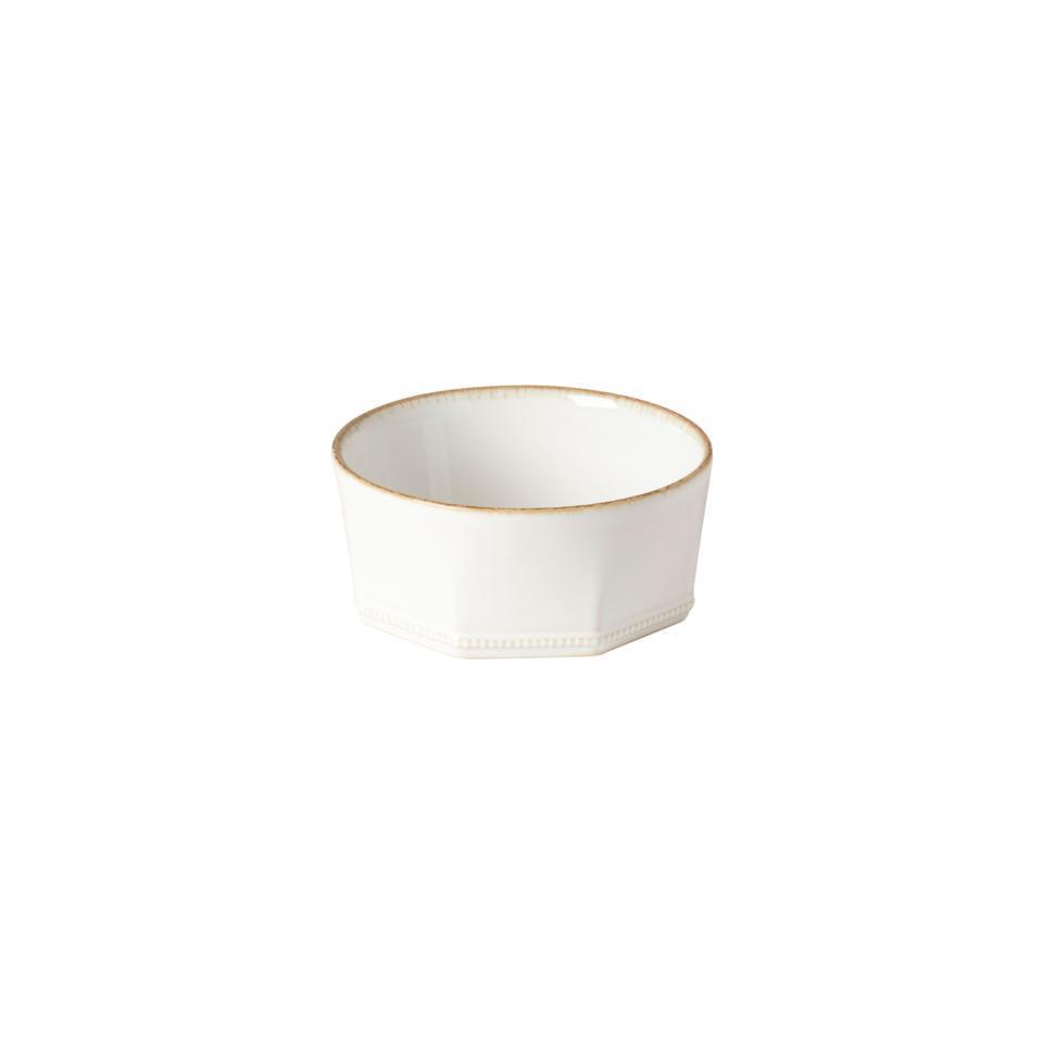Luzia -  Cloud White Low Bowl 5 inch