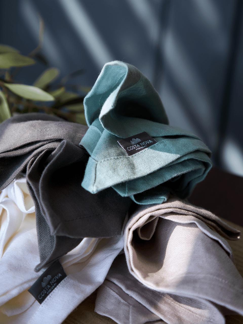 Porto - Turquoise Napkin Set/4