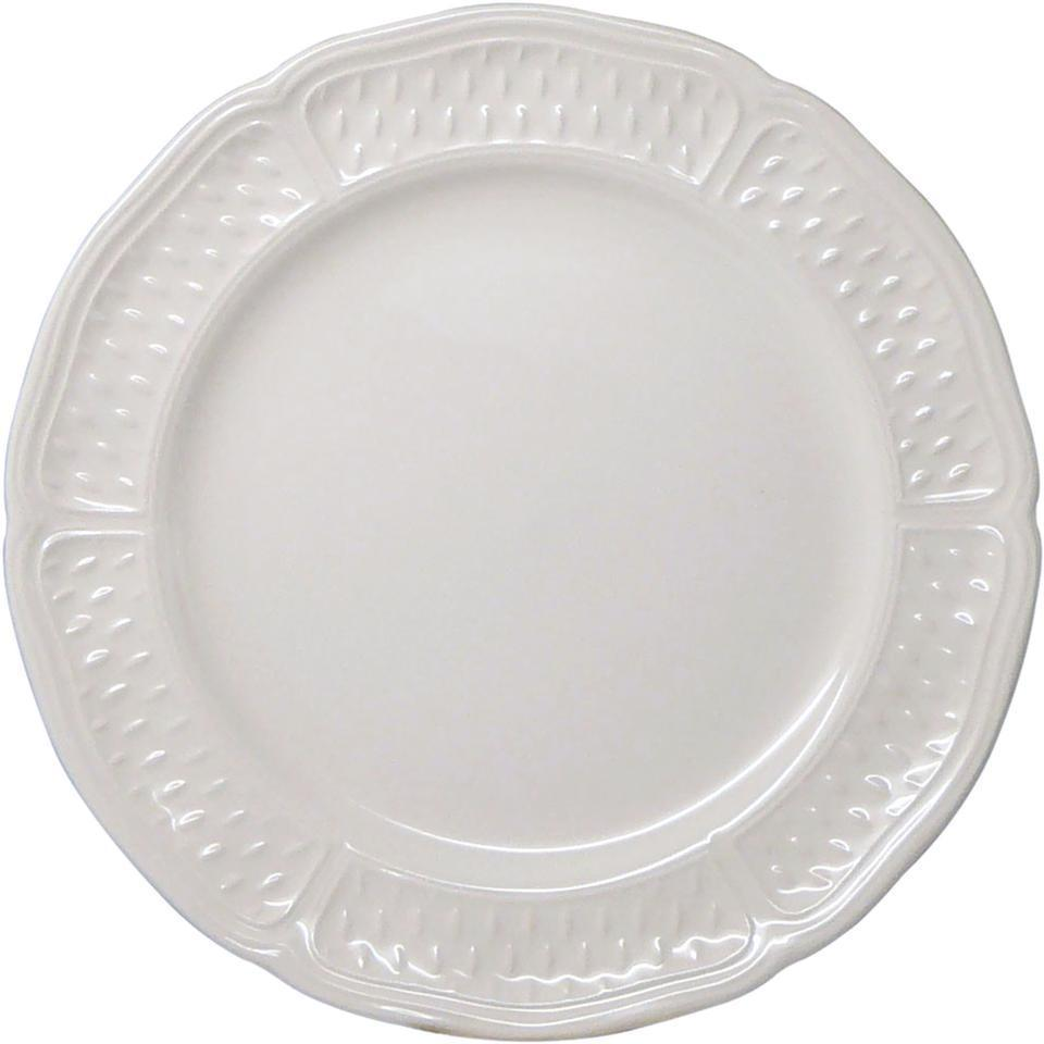 Gien pont aux choux blanc canape plate price for What is a canape plate