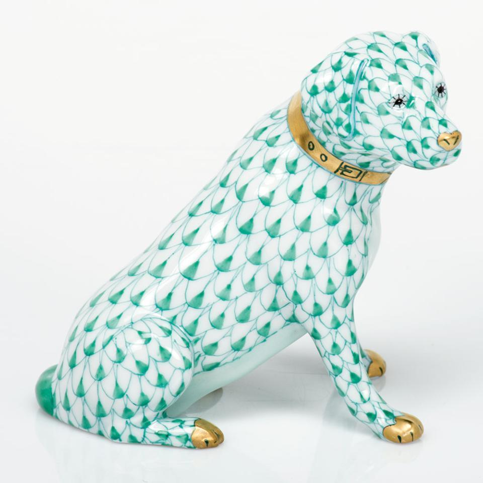 Herend ~ Dogs ~ Labrador Retriever - Green, Price $375 00 in