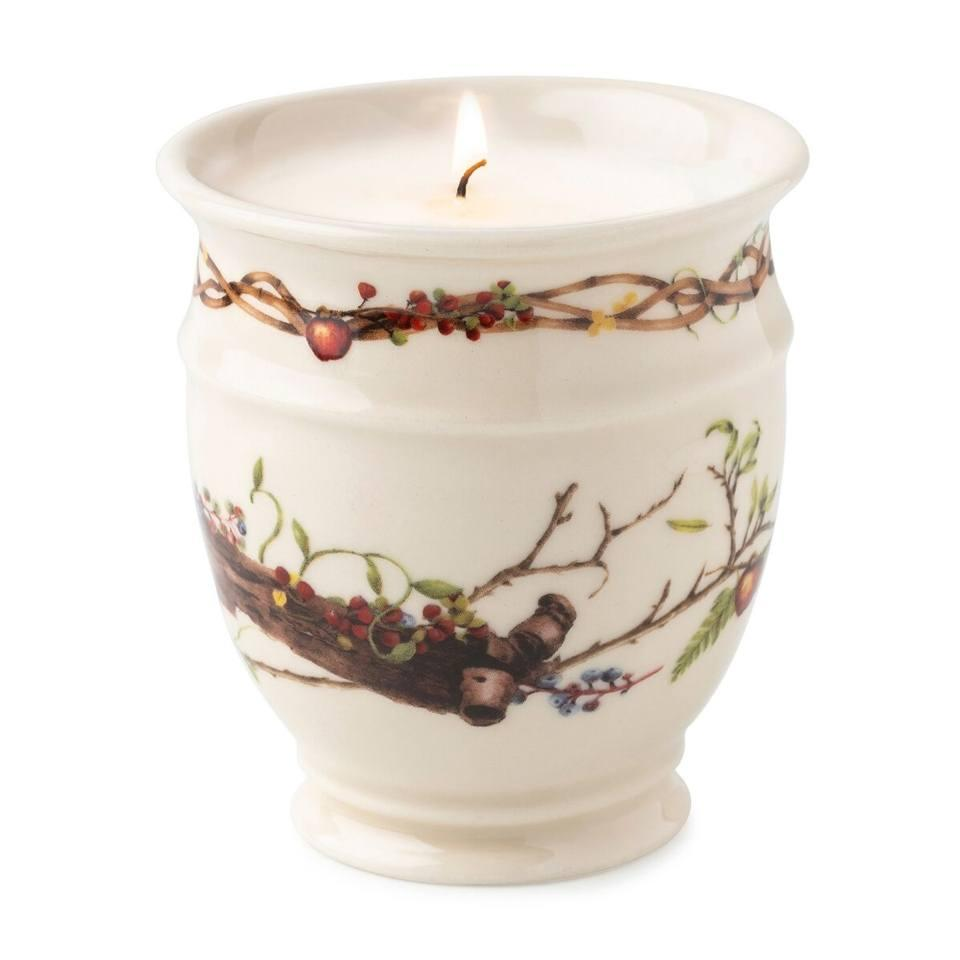 Forest Walk Caf� au Lait Scented Candle