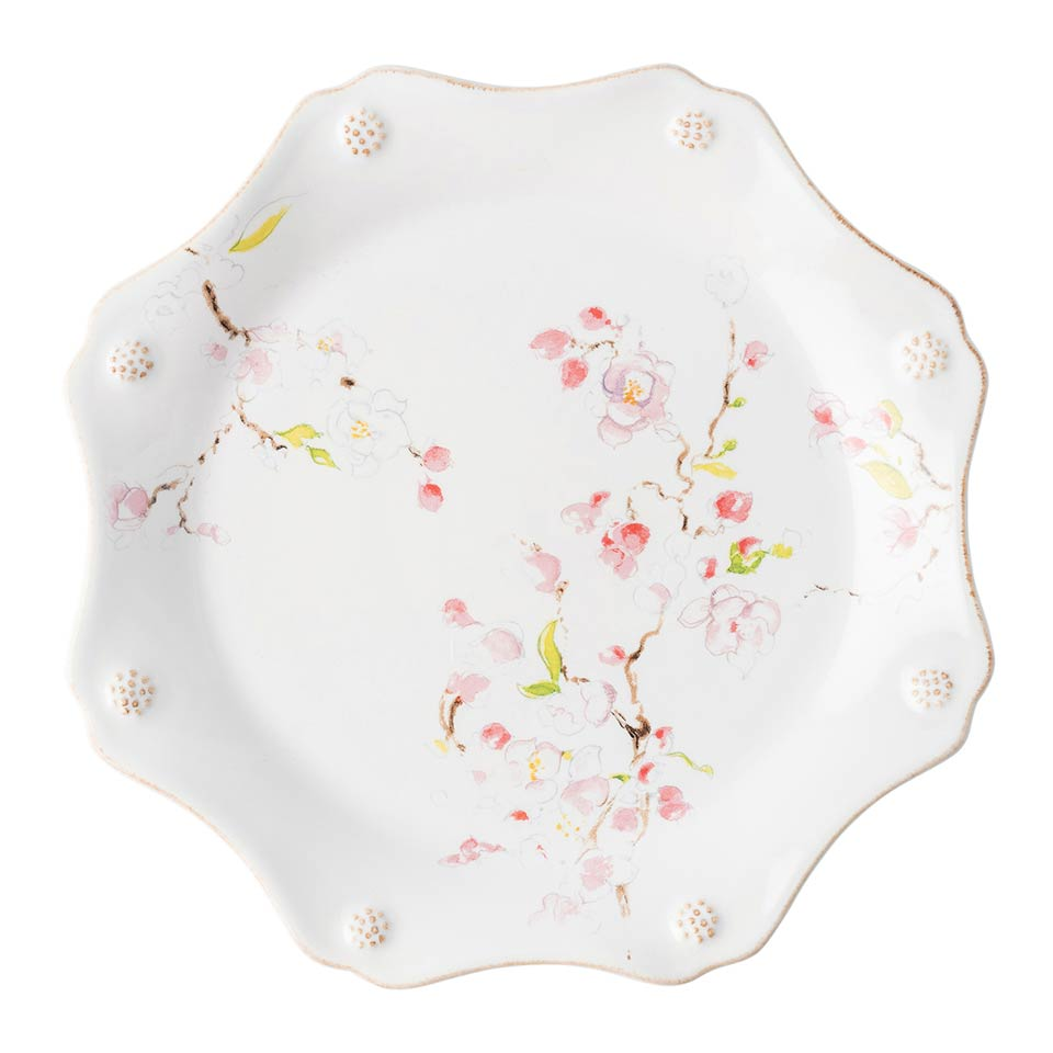 Cherry Blossom Dessert/Salad Plate