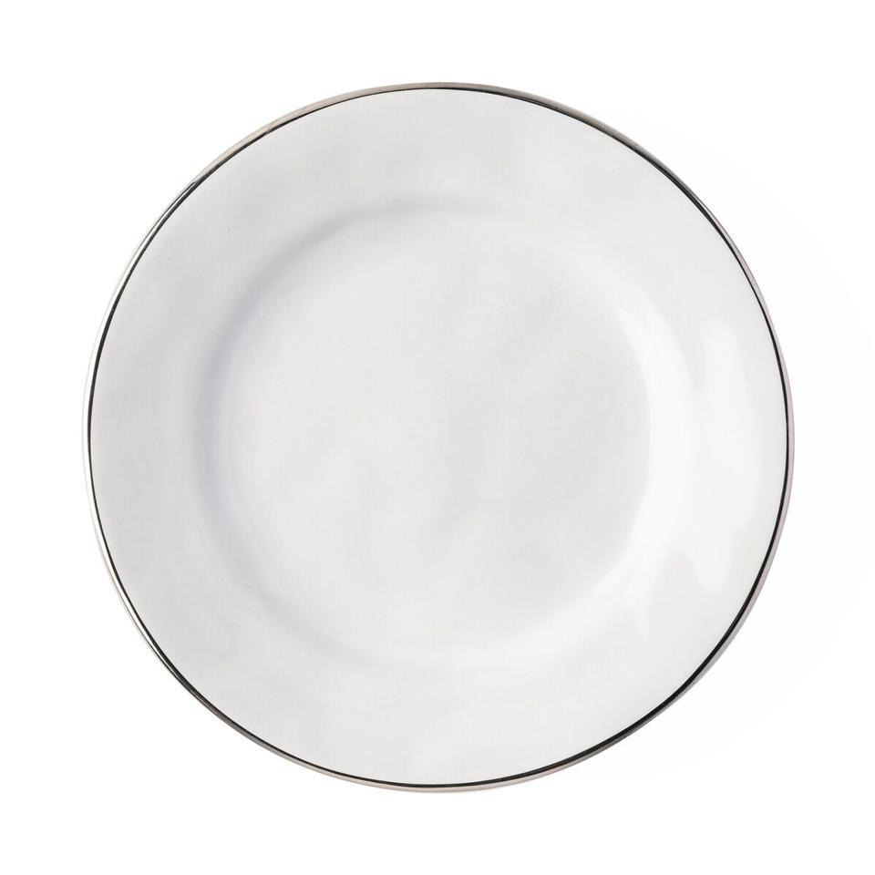 Side/Cocktail Plate with Platinum Rim