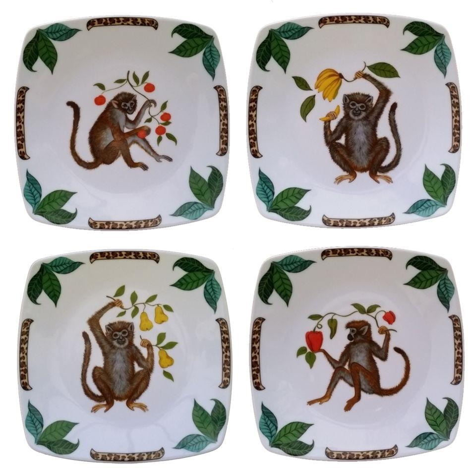 Lynn chase canap plates four friends canap plates for What are canape plates
