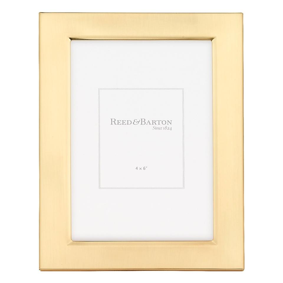 Reed & Barton ~ Gold Accent Frames ~ Classic Gold Accent Frame 4 x 6 ...
