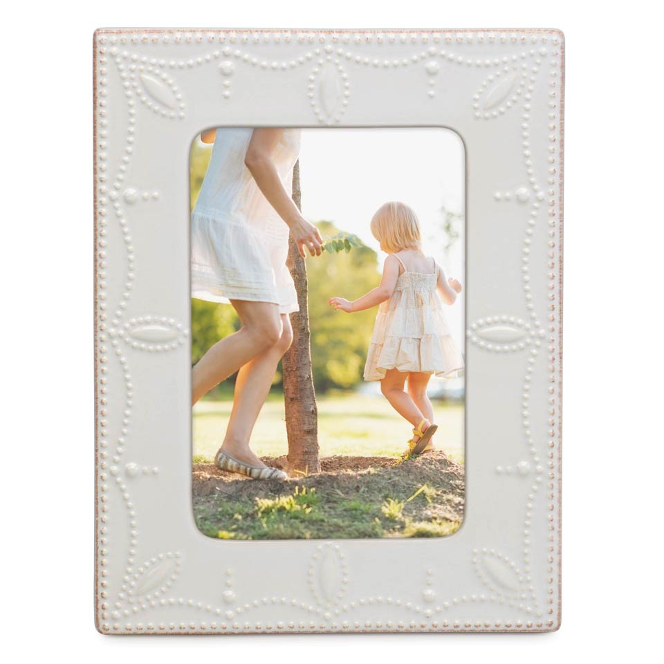 White Frame 4X6