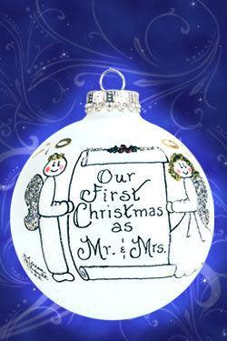 2200 our first christmas as mr mrs ornament