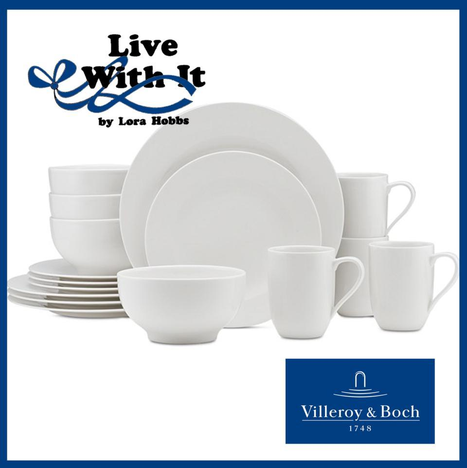 Sale $448.00 16 Piece Dinnerware Set Service for 4  sc 1 st  Live With It by Lora Hobbs & Sale: For Me ~ 16 Piece Dinnerware Set: Service for 4 Price $448.00 ...