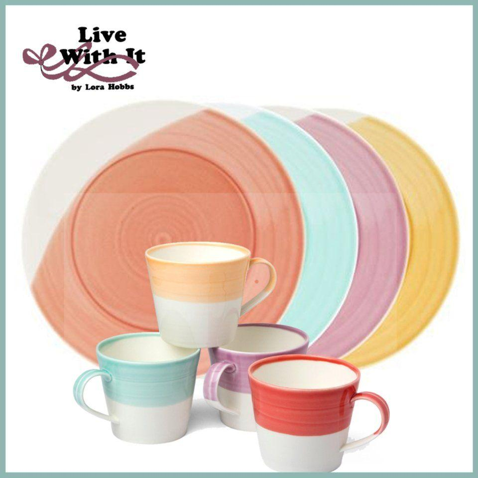 Sale $55.75 Royal Doulton 1815 Bright 4 Piece Place Setting  sc 1 st  Live With It by Lora Hobbs & Sale: Custom Designed Place Settings ~ Royal Doulton 1815 Bright 4 ...